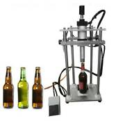 Pneumatic Beer Bottle Capping Machine Crown Capper