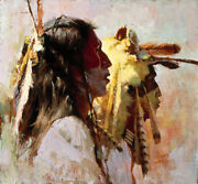Proud Men Sold Out Artist Proof Edition By Howard Terpning