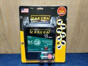 Zareba Edc15m-z 15-mile Battery Operated Low Impedance Electric Fence Charger