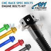Crankcase Cover Clutch Engine Bolts Fit Yamaha Vmax 1700 Vmx1700 09-16 15 14 13
