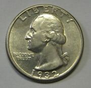 1932-d Silver Washington Quarter Grading Au Nice Key Date Coin Priced Right