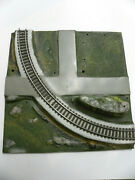 Original American Flyer All Aboard 26101 Curved Track Panel