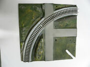 Original American Flyer All Aboard Curved Track Panel