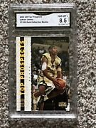 2003 U D Gold Collection Lebron James Rc 017/100 Graded Nm-mnt+ 8.5