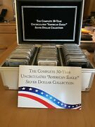 Silver Dollar American Eagle 30 Year Collection With Case 1986 To 2015