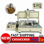 6090 Cnc 4axis Usb Router Engraver 3d Vfd Metal/wood Carving Mill Machine 1.5kw