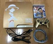 Ps3 Playstation 3 Console System One Piece Kaizoku Musou Gold Edition Used