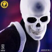 Mezco One12 Collective Mdx Exclusive White Skull Agent Action Figure New Rare