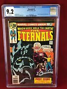 The Eternals 1 Mega Bronze Age Key Cgc 9.2 🔥white Pages🔥