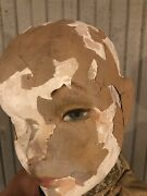 Antique Composition Mannequin Doll Rare Large Size Rare Haunted Early 1900's