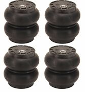 Ss5 Slam Bags Set Air Ride Suspension 5.5 Round 1/2npt Port Ss-5 4 Airbags