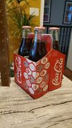 2008 Coca-cola 4 Pack Glass Bottles Limited Holiday Edition Circa 1900 Bottles