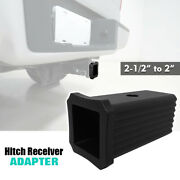 2-1/2 To 2 Trailer Hitch Receiver Reducer Adapter For Bike Rack/cargo Carriers