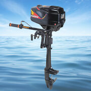 2stroke 3.6hp Outboard Motor Boat Gasoline Engine With Water Cooling Cdi System