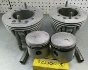 Bmw Airhead Rebuilt Cylinders And Pistons New Rings 900cc