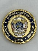 Florida Highway Patrol 75th Anniversary Police Challenge Coin 1939-2014