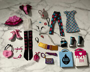 Monster High Draculaura And Frankie Day At The Maul Fashion Pack Loose Complete