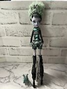 Twyla Freak Du Chic Monster High Doll Complete Outfit Dustin Pet Rare