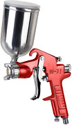 Spray Gun With Aluminum Swivel Cup Painting Equipment House Auto Car Gravity New