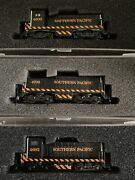 N Scale Con Cor Sw1200 Cow Calf Southern Pacific Switchers 3rd Knuckle Couplers