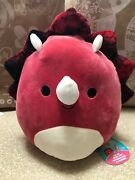Squishmallows 12andrdquo Flip-a-mallows Tristan/chuey Brand New Free Shipping