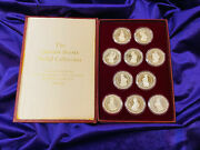 Queenandrsquos Beasts Sterling Silver Medal Collection 1978 Scarce Only 517 Made