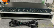 Ashly Xr-1001 Crossover Stereo 2-way, Mono 3 Way F/s From Japan Good Condition
