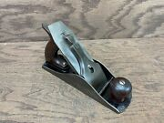 Stanley Siegley Sts No. 4 1/2 C Corrugated Smoothing Plane Rare