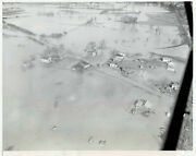 1946 Press Photo Aerial View Tennessee River Floods Chattanooga Homes And Streets