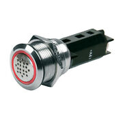 Bep Push-button Switch 12v Buzzer - Red Led