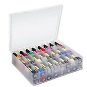 48 Grids Nail Art Storage Box Jewelry Nail Tip Container Empty Clear Storage