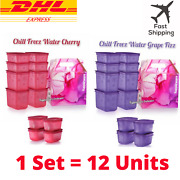 Original Tupperware Chill Freez Set Fizz Containers / Canister / 12 Units + Box