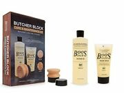 John Boos Mystery Oil Cream And One Applicator In Gift Packaging Cutting Boar...