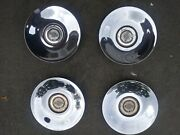 Set Of 4 Oem 2004-07 Chrysler Town And Country Chrome Center Cap Hubcap 04743572aa