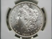 1882 Cc Morgan Silver Dollar 1 Ngc Ms62 016 East Coast Coin And Collectables