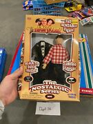 The 3 Stooges Nostalgic Series, Larry, Moe And Curly Fully Bendable Dolls Nrfb