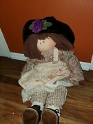 Little Souls Doll Hannah By Gretchen Wilson Push Rare 1994 Signed