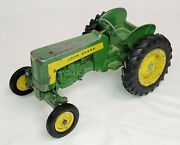 Vintage 1950and039s John Deere 430 Tractor With Three 3 Point Hitch Ertl / Eska 1/16