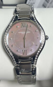 Raymond Weil Noemia 32mm Pink Mother-of-pearl Diamond Watch 5132-sts-00986