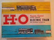 Marx Ho Train Set Remote Control Electric Battery Reversing Ny Central