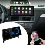 12.3and039and039 Ips Android Car Gps Navi Radio Stereo Wifi Player For Bmw X3 X4 F25 Cic