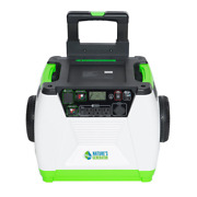 Solar Generator 1800w 3-outlet Bluetooth Overload Protection Adapter Included