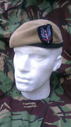 Sas Special Air Service Beret And Cap Badge Size 62 Officer Quality