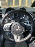Evolution Evo X Ralliart Lancer Complete Steering Wheel Assembly W/ Bluetooth
