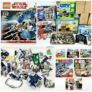 Lot Of Lego And Other Sets And Parts - Star Wars, Dump Truck, Operating Room Etc.