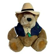 Gund Bear Lands End Rugby Bear Limited Edition Collectors Bear Big Daddy
