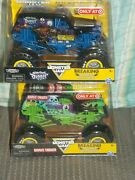 2021 Target Monster Jam Breaking World Records Grave Digger And Son-uva Digger New