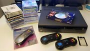 Memorex Vis Vintage Game System With Huge Game Library Controllers Rare
