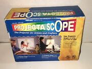 Projecta Scope Pj786 Art Magnifying Drawing Tracing Projector