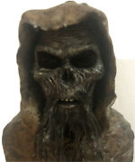 Tombs Of The Blind Dead Bust Figure-discontinued Movie Memorabilia-1972-horror